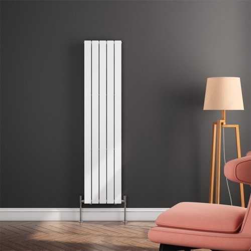 Reina Flat RND-FL165W Single White Vertical 1600 x 366