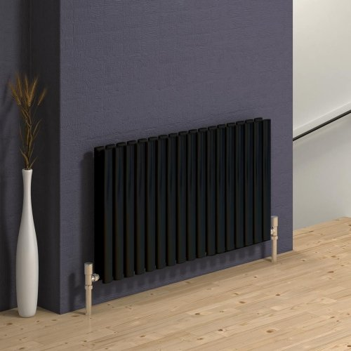 Reina Neva Double Anthracite Horizontal RND-HNV10AD 590 x 550mm