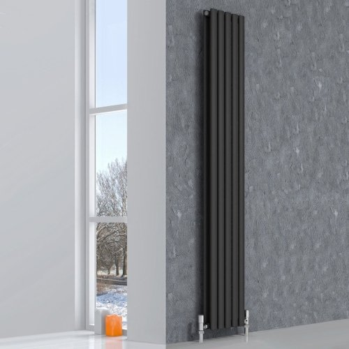 Reina Neva Double Anthracite Vertical RND-NV2315AD 236 x 1500mm