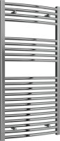 Reina Diva AG60120CC Chrome Curved Towel Rail 600mm x 1200mm