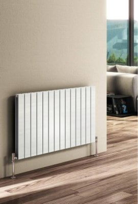 Reina Flat RND-FL06W Single White Horizontal 600 x 440