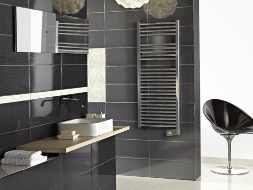 Rointe Kyros KTI030SEB3 300W White Electric Towel Rail 900mm