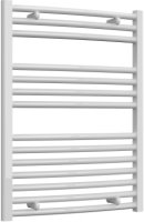 Reina Diva AG60800WC White Curved Towel Rail 600 x 800mm