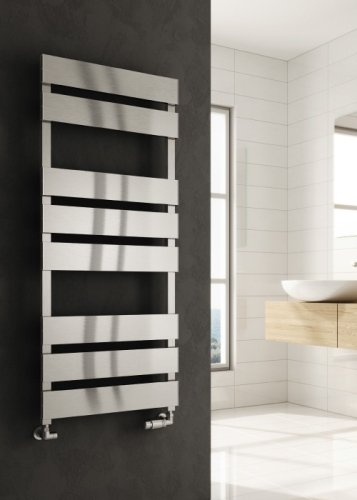 Reina Fermo A-FRM0715A Anthracite Satin Towel Rail 480 x 710mm